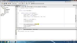 JavaFX Урок 7 - Alert Box