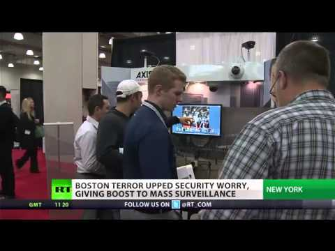 Under the Microscope  Mass surveillance on rise in US after Boston attack  YouTube2