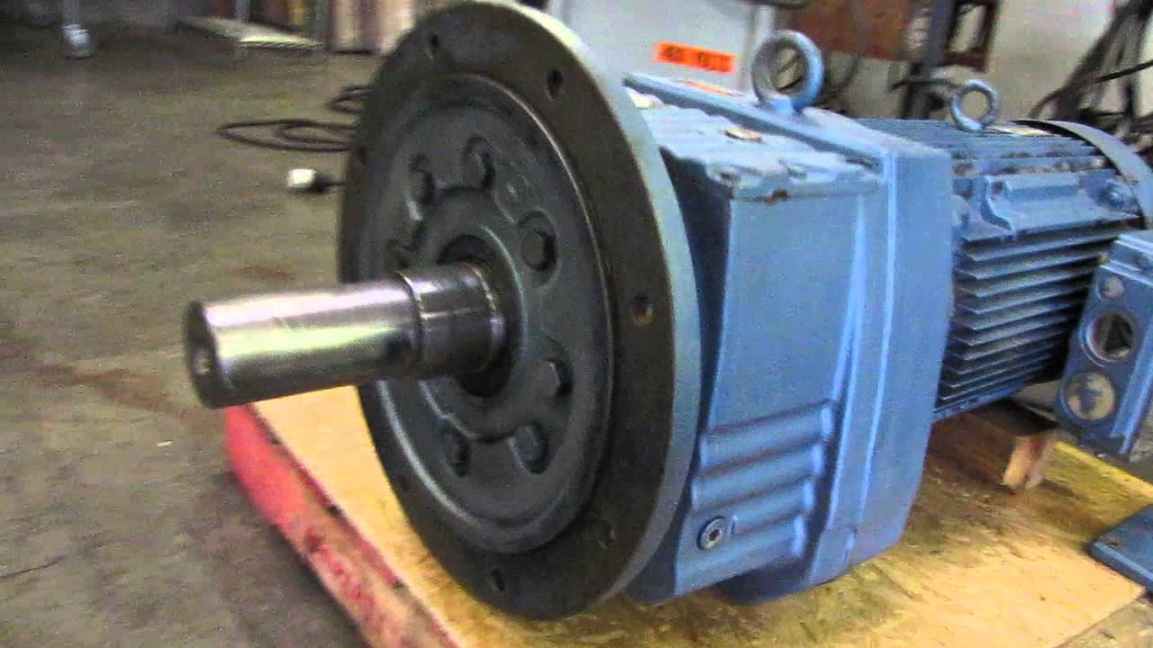 Sew eurodrive 25 hp electric motor and reduction gear for Electric motor with gear reduction