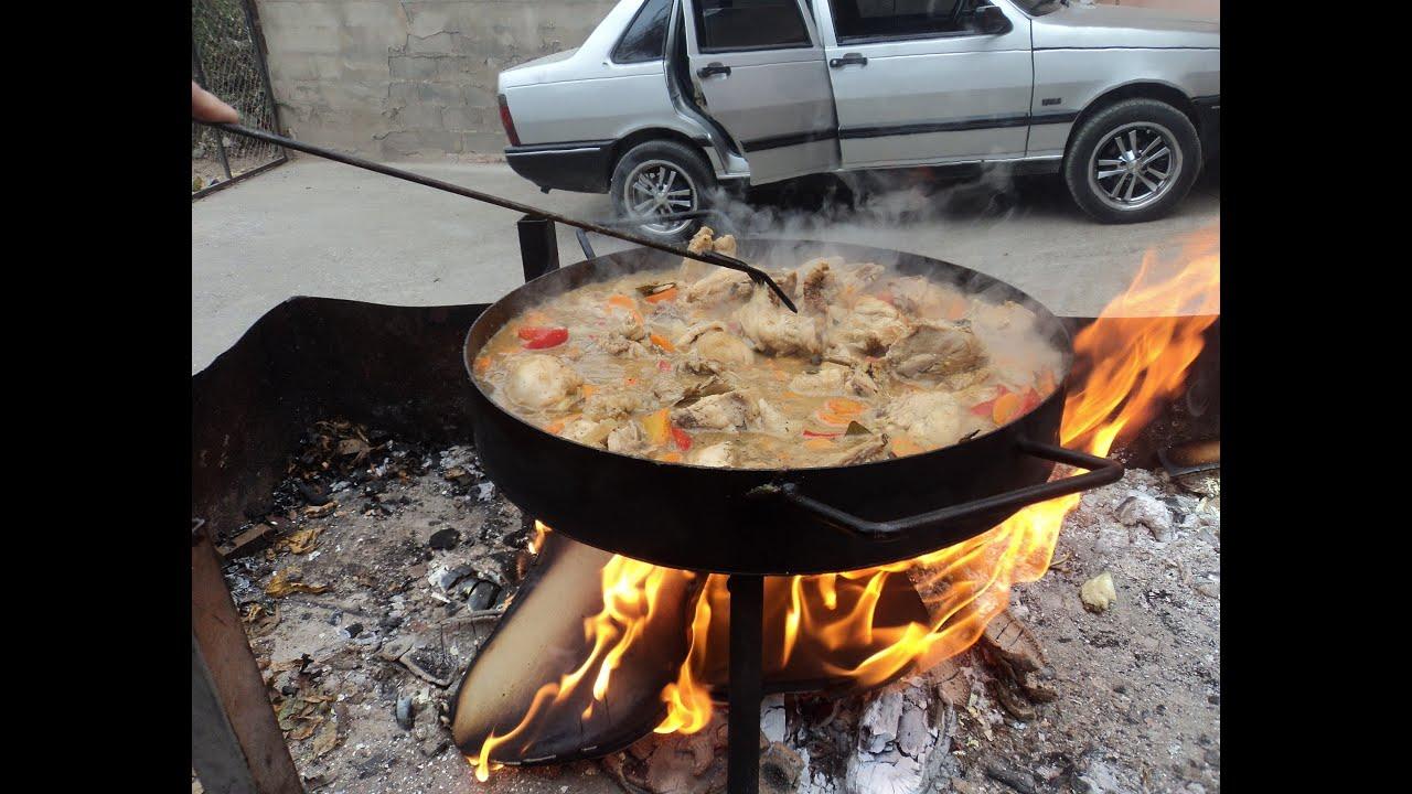 pollo al disco argentino