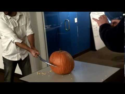 george knife pumpkin