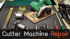 How To Repair Cutter Machine CM4, Armature replesment..Marble Cutter.