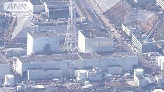 福島第一原発 格納容器へのロボット投入延期へ(16/01/29)