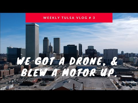 Weekly Vlog #3 Engine Blown and we got a DRONE (DJI SPARK) oh, & I clean the garage.
