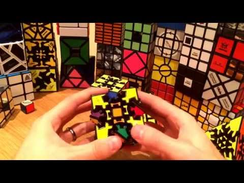 Speaking & Solving Twisty Puzzles! - Pyraminx Duo & Gear Cube