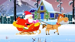Jingle lonceng | Natal Carols | Xmas Lagu | Nursery Rhymes | 3D Song | Kids TV Videos | Jingle Bells