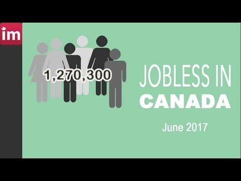 Jobless in Canada June 2017 | Employment in Canada