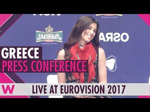"Greece Press Conference — Demy ""This is Love"" Eurovision 2017 