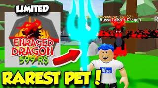 I Bought The ENRAGED DRAGON Pet In Forest Simulator And BEAT THE WHOLE GAME! (Roblox)