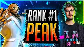 Overwatch CURRENTLY RANK #8! New !giveaway Rank #1 Peak 4646 SR