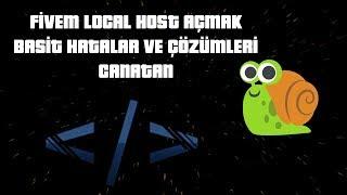 FiveM Local Host Açma   Basit Hatalar ve Çözümleri   FDT