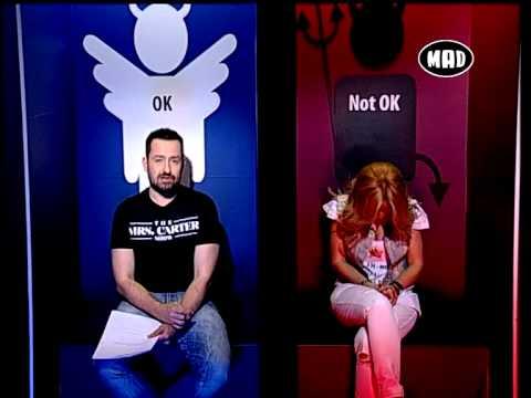 OK - Η Μαρία Μπεκατώρου στο OK@NIGHT! (27.5.13)