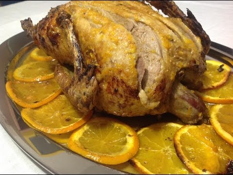 Pato facil al horno v deo receta 101 aqu cocinamos tod for Pato a la naranja al horno