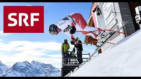Siegesfahrt von Beat Feuz Lauberhorn 2020 FULL HD - SRF