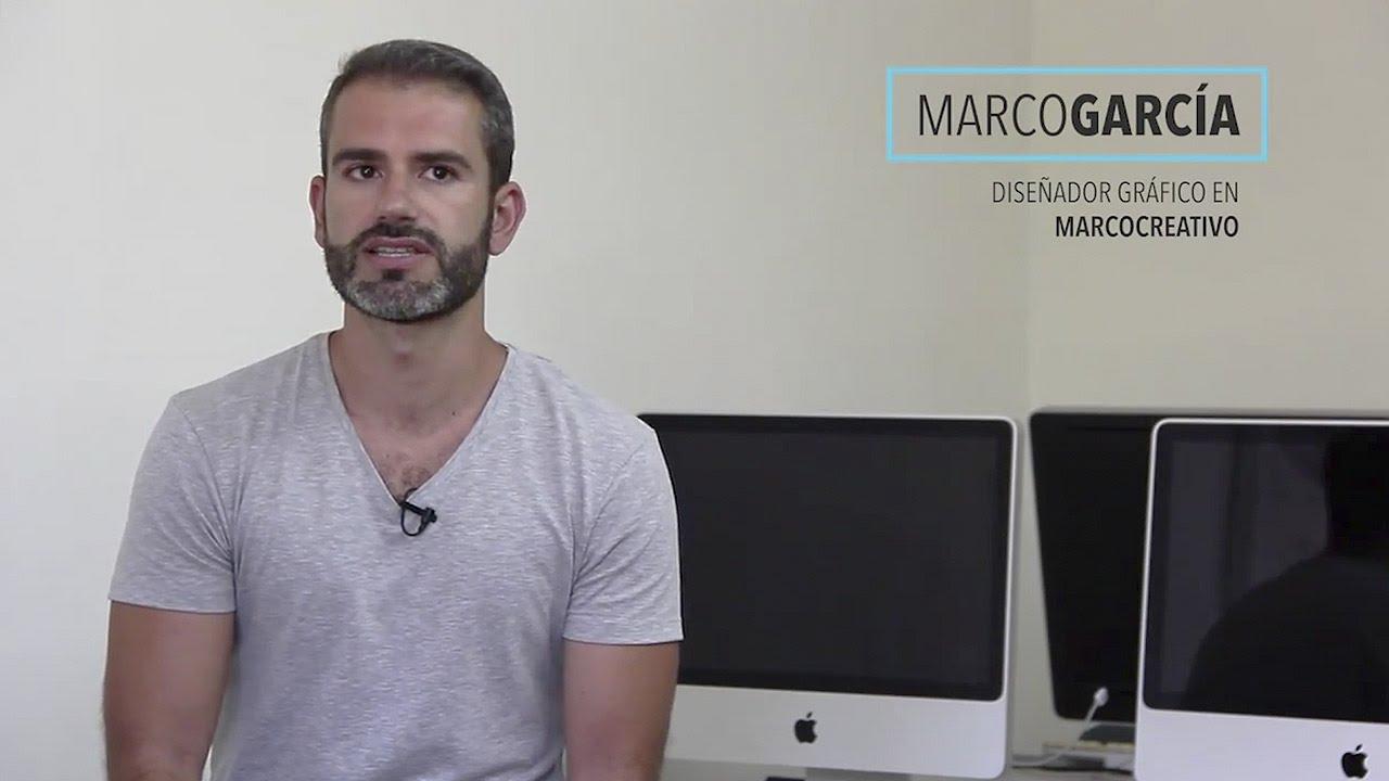 Marco García en Natural Formación / ¿Qué es diseño gráfico? // Marco ...