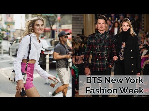 A Day in the life of a Model   NYFW, Ralph Lauren, & Red Carpet   Sanne Vloet