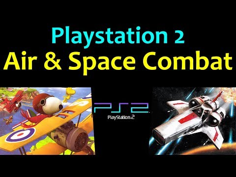 10 Awesome PS2 Air & Space Combat Games ... (Gameplay)