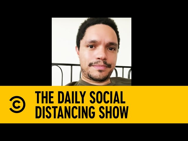 Trevor Noah On George Floyd, Amy Cooper & Racism In Society   The Daily Social Distancing Show - Comedy Central UK