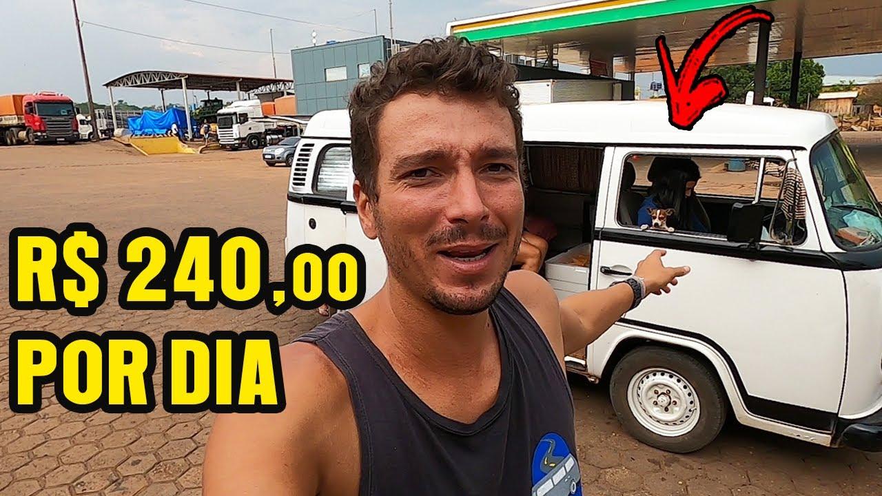 Vendendo POLPA DE FRUTA pra PAGAR A GASOLINA! Cacoal, Rondônia