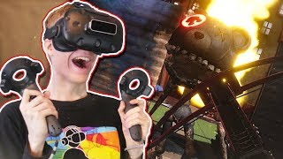 VIRTUAL REALITY MAZE RUNNER! | Kartong VR: Death by Cardboard (HTC Vive Gameplay)