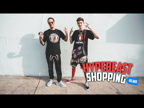 Hypebeast Sneaker & Outfit Shopping With My Dad