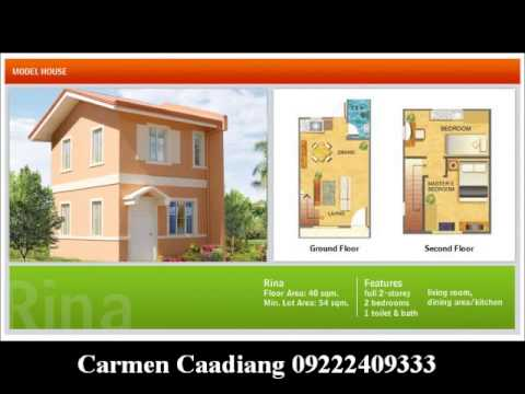 camella home with floor plan - YouTube