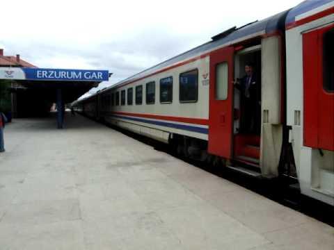 Train Ankara - Kars at Erzurum