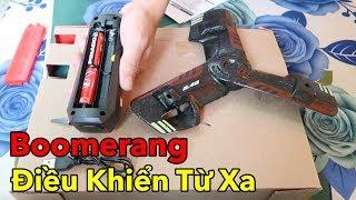 Lâm Vlog - Chơi Thử Boomerang Điều Khiển Từ Xa Giá 140k | RC Boomerang $6