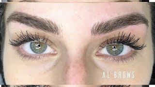MICROBLADING EYEBROWS: Entire Process + Before and After!