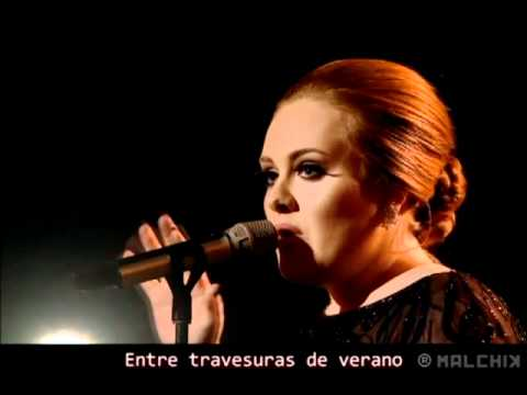Adele Someone Like You Live Sub Espanol