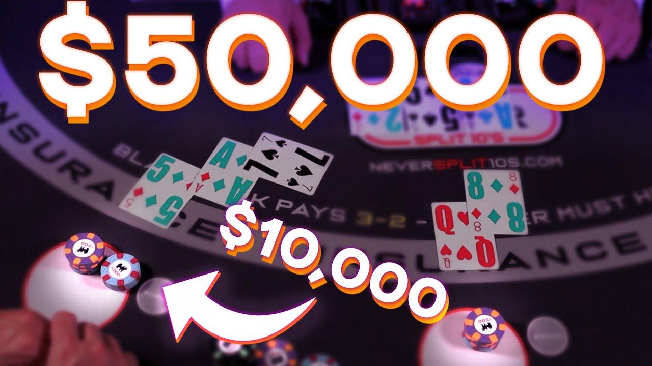 $50,000 BLACKJACK ROLLER COASTER - Collectible Giveaway - E.163