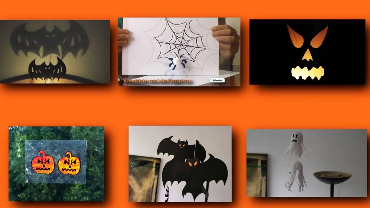 Adornos para Halloween Dia de Muertos Manualidades para todos