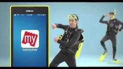 BookMyShow Mobile app Latest TV Offer ad  Mood Kiya  Book Kiya
