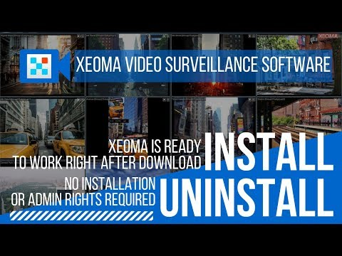 Xeoma Free Video Surveillance Software for Windows, Linux