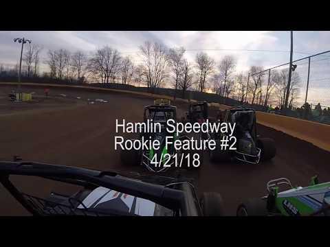 Hamlin Speedway Rookie Feature #2; 4/21 2018