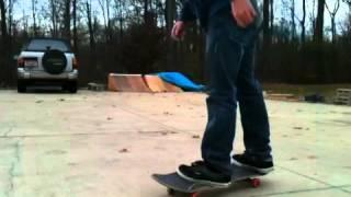 A chill skate sesh in memory of Grant Samblanet