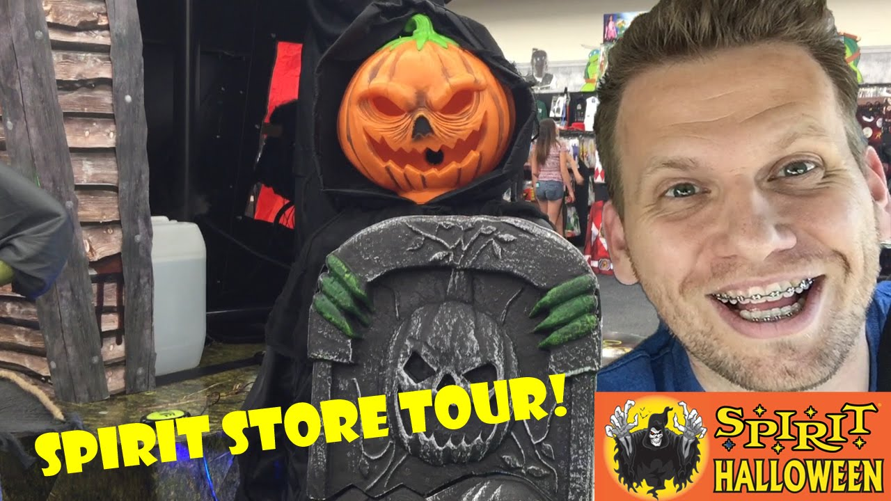 spirit halloween store tour youtube - Spirit Halloween Store 2016