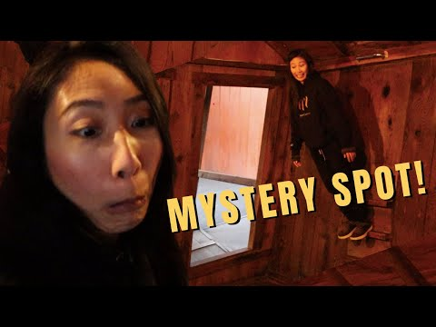 The MYSTERY SPOT in Santa Cruz California