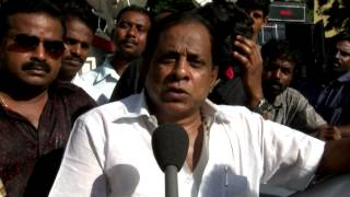 Comedy Actor Singamuthu Teasing Karunanidhi and Subramanian Swamy - RedPix24x7