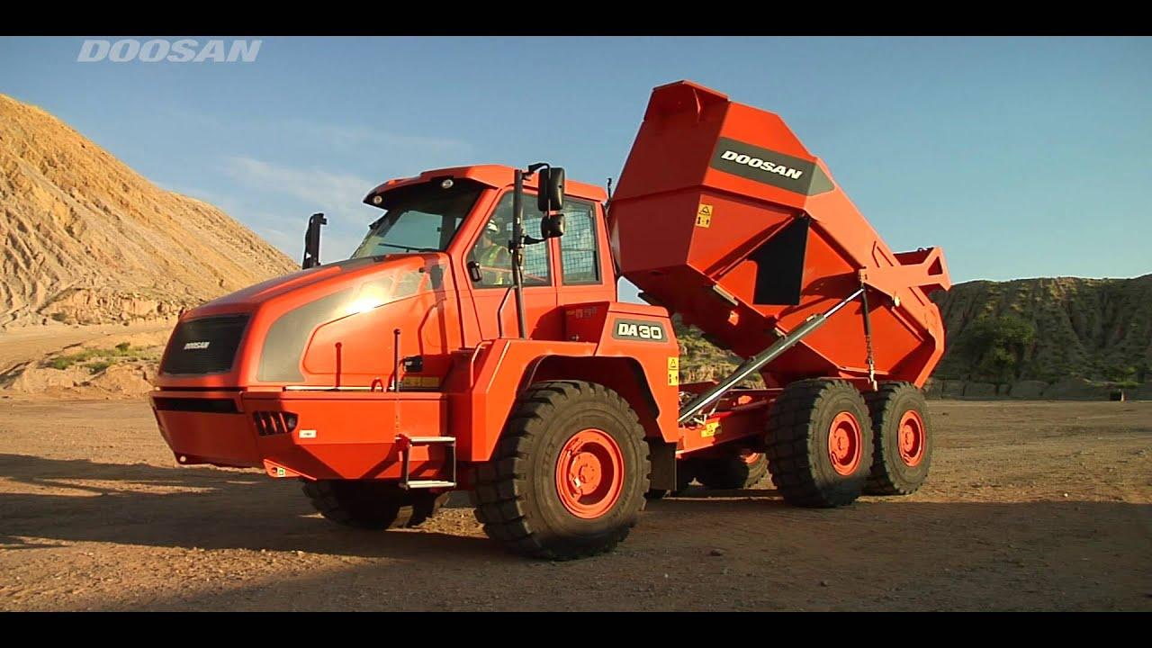 doosan articulated dump truck adt training safety youtube rh youtube com Mining Dump Truck Dump Truck CDL Training
