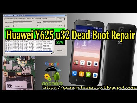Huawei Y625 u32 Dead Boot Repair