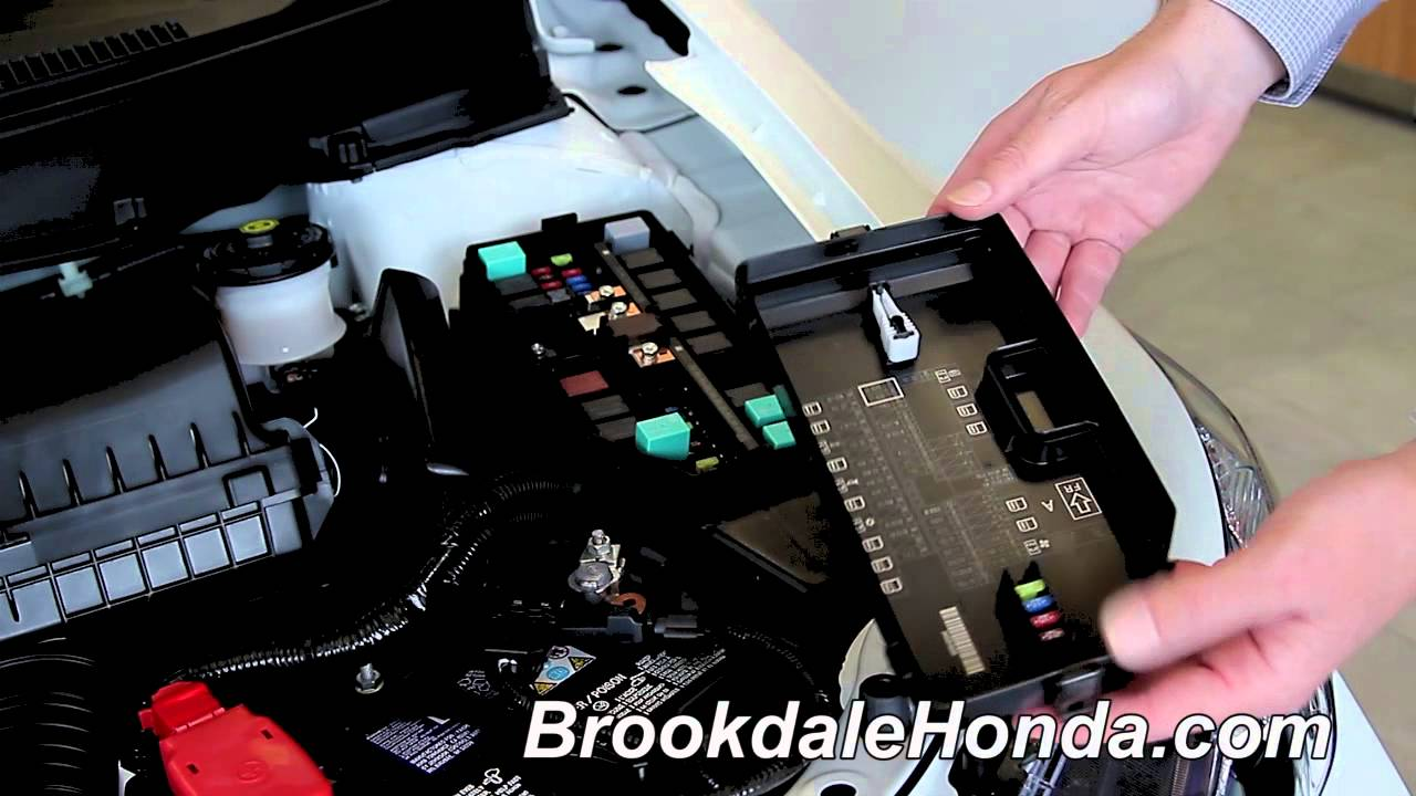 2013 Honda Civic Locating The Fuse Box And Fuses How To By Brookdale Honda Youtube