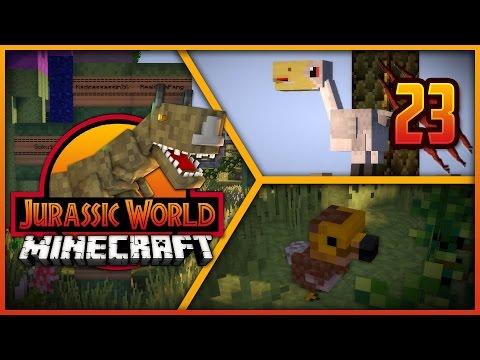Minecraft Jurassic World - Episode 23 - NEW PREHISTORIC BIRDS & SO MANY LUCKY BLOCKS