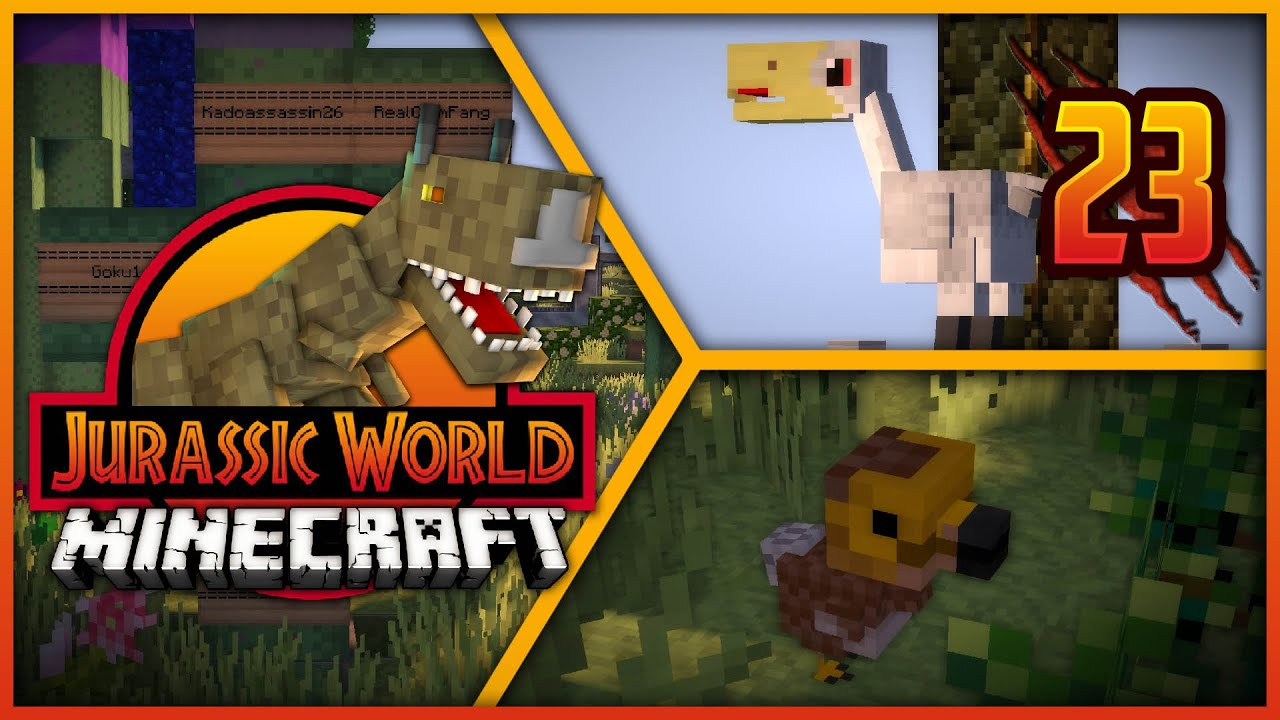 Repeat Minecraft Jurassic World - Episode 23 - NEW