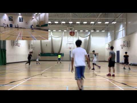 2015-2016 OCR Gcse physical education control assessment/ Level 1 basketball video evidence