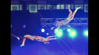 「ボリショイサーカス2017」が7月20日、東京の東京体育館で開かれ、ロシ...