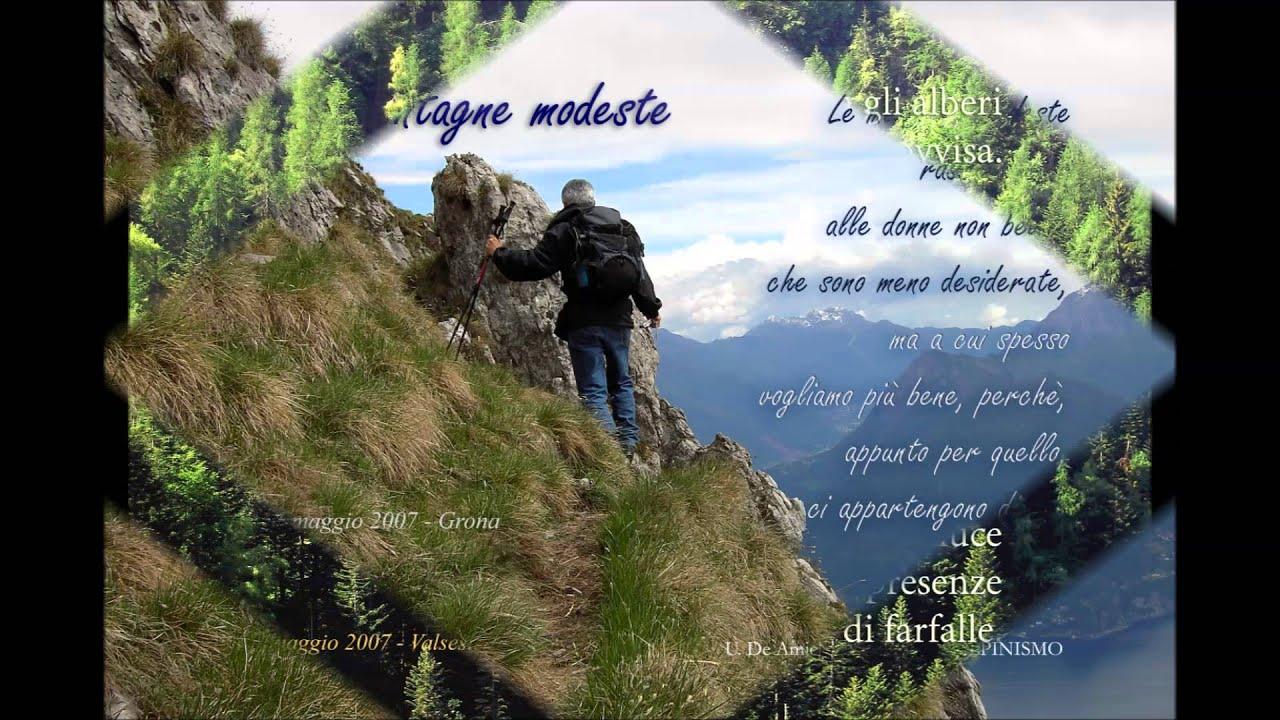 Top Le Mie Montagne Poesie e Aforismi - YouTube WF39