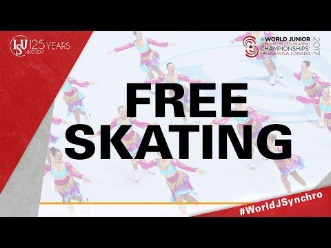 Free Skating - ISU World Junior Synchronized Skating Championships ® 2017