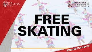 Free Skating - ISU World Junior Synchronized Skating Championships ® 2017