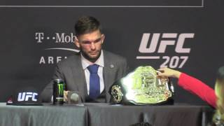 Cody Garbrandt Explains Hair Bet with Forrest Griffin